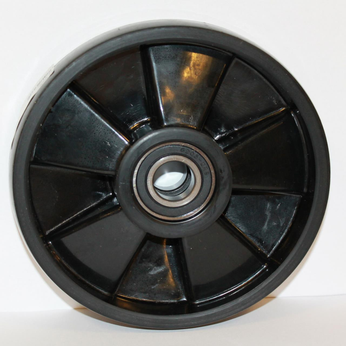 Styrehjul nylon m/lejer 200mm