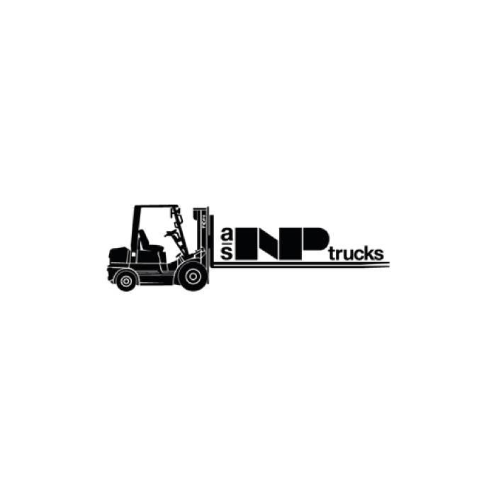 Styrehjul polyurethan m/lejer 200mm